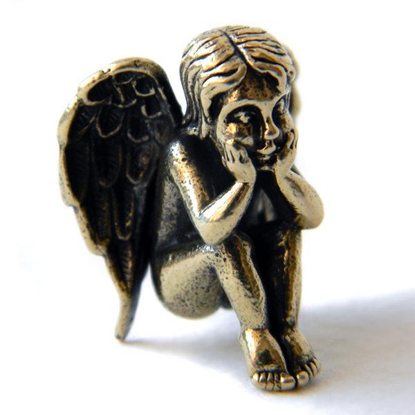 бронзовая статуэтка ангел подарок ребенку