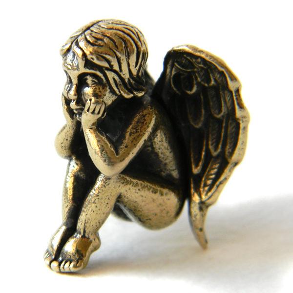 Купить маленькую статуэтку Ангел-Хранитель из бронзы в Симферополе