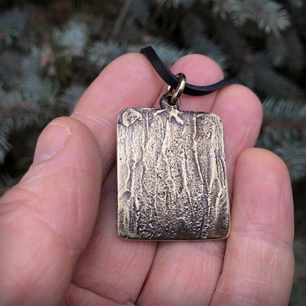 медведь бронзовый кулон подвеска купить в симферополе подарок из крыма