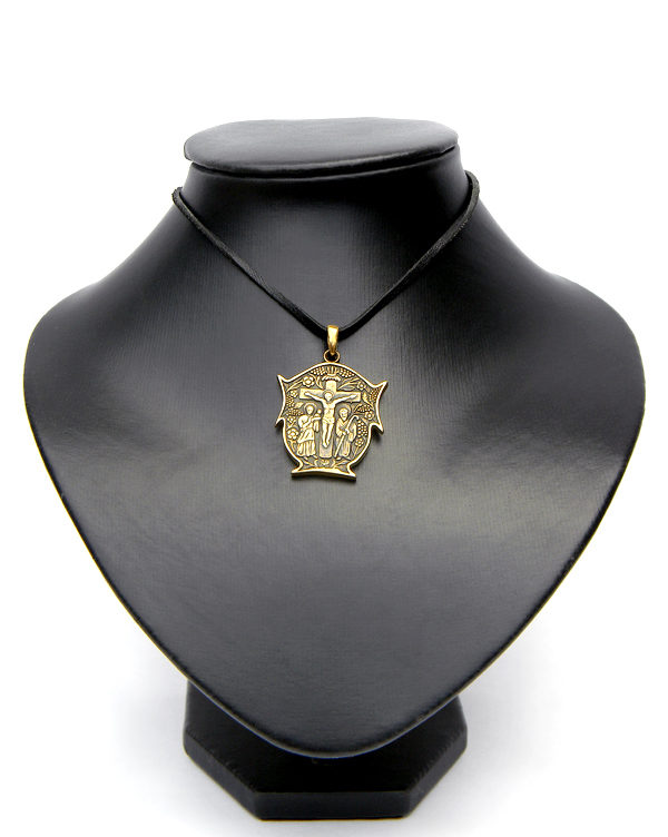 Купить бронзовый Т-образный христианский крест
