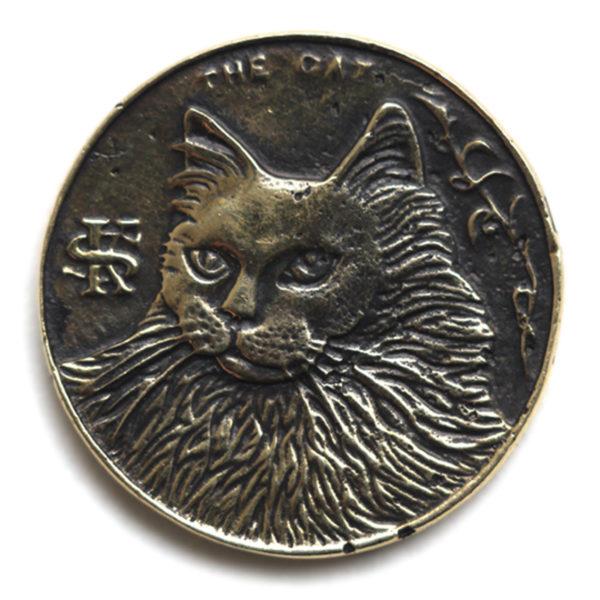 монета бронзовая купить в симферополе любителю кошек