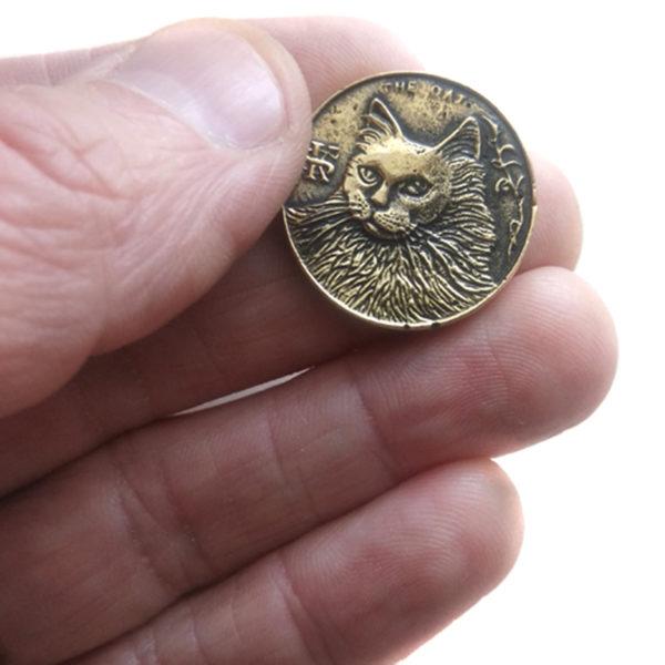 монета бронзовая купить в симферополе одна котейка