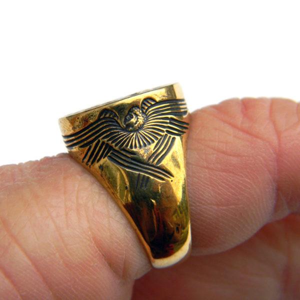 богоматерь знамение богородица оранта кольцо бронзовое купить