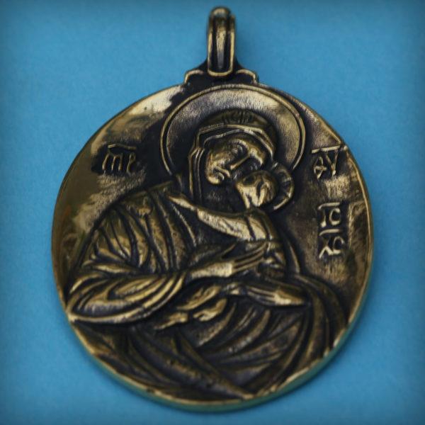 божья матерь умиление кулон бронзовый купить в симферополе