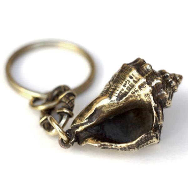 раковина рапана брелок бронзовый купить в интернет магазине bronzeland
