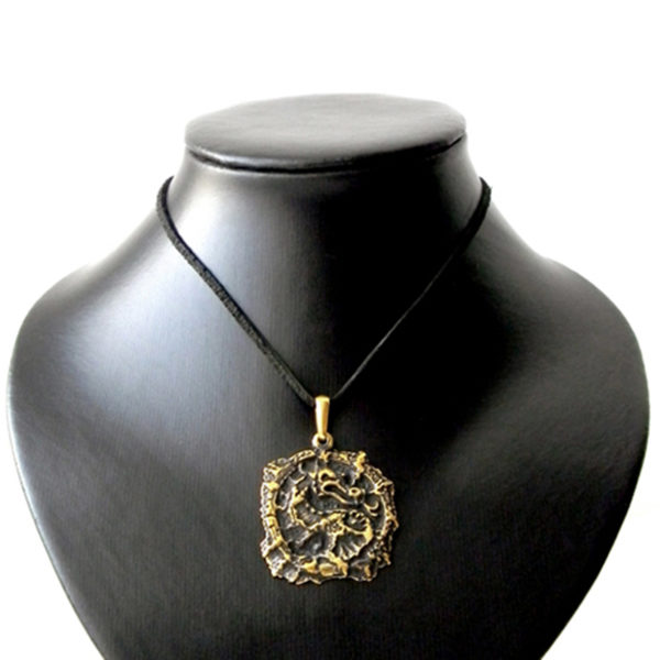 бронзовые украшения купить оптом в крыму дракон кулон