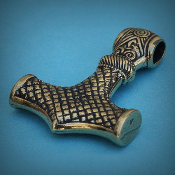 Молот Тора бронзовый кулон купить в симферополе в крыму