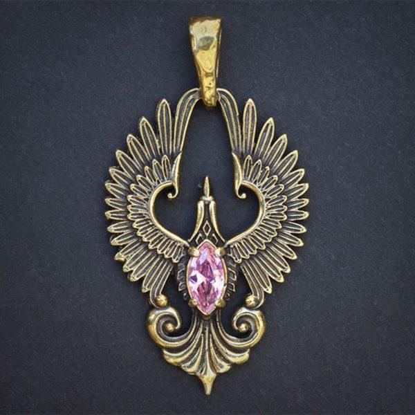 подвеска феникс кулон бронзовый украшения оптом и в розницу купить от производителя в крыму симферополь
