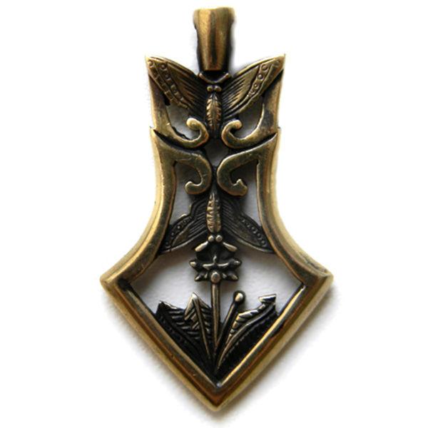 что привезти из крыма в подарок бронзовый кулон наконечник стрелы японский стиль