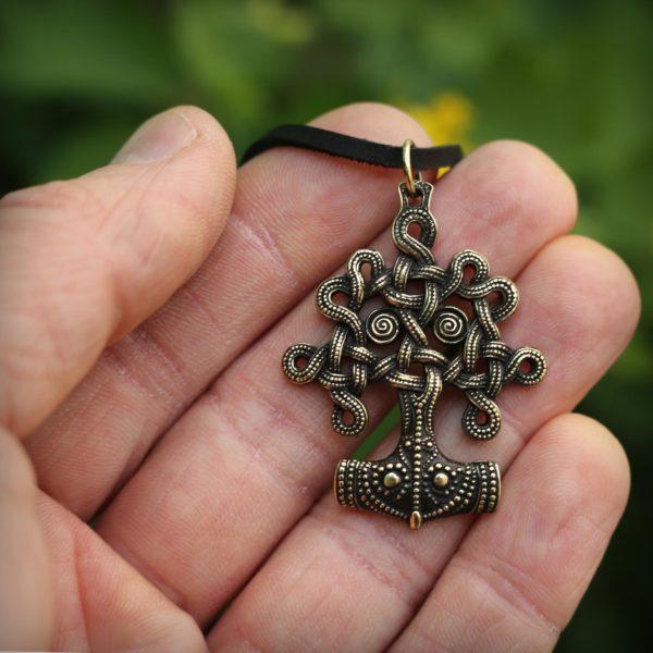 древо жизни бронзовый кулон купить в крыму подарок из крыма