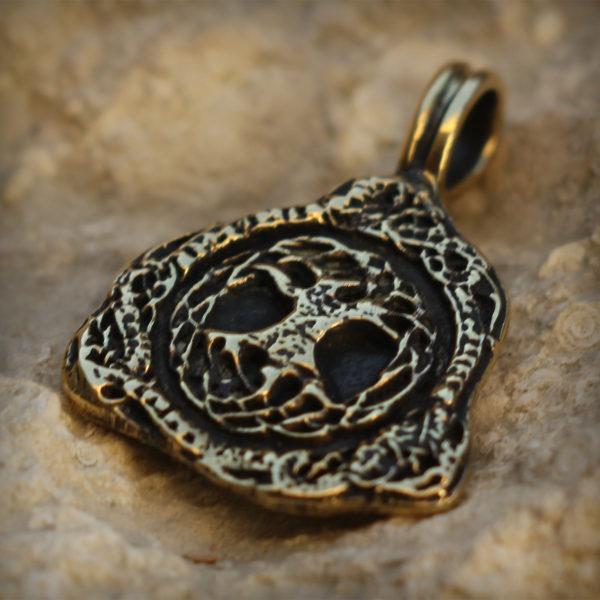 иггдрасиль бронзовый кулон трикветр купить в крыму сувенир