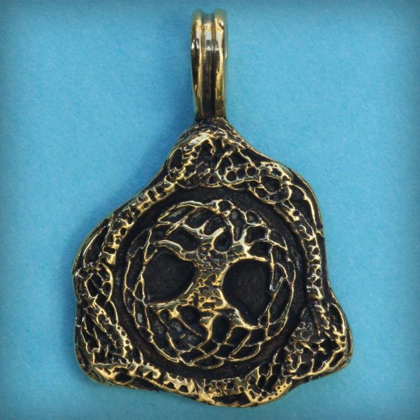 что привезти из крыма в подарок бронзовый кулон кельтский стиль трикветр древо жизни кулон