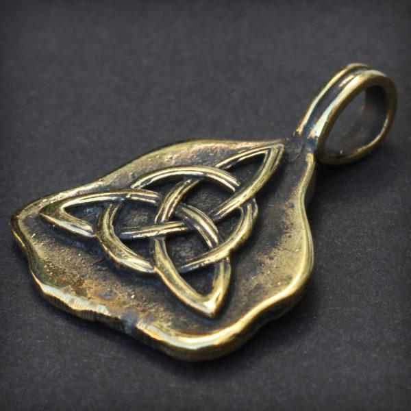 иггдрасиль бронзовый кулон трикветр купить в симферополе подарок