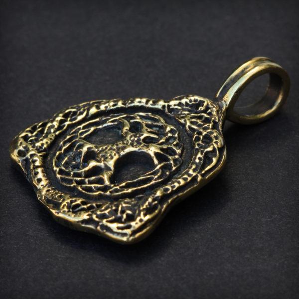бронзовые украшения в кельтском стиле трикветр древо жизни иггдрасиль купить в симферополе оптом