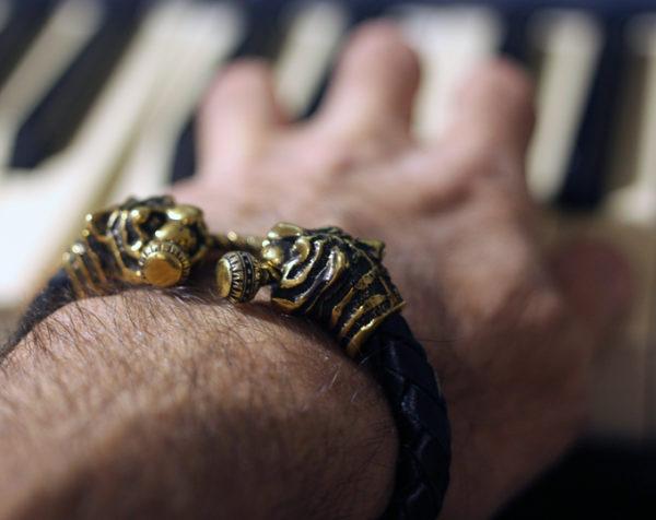 браслет с тигром мужской каталог мужских браслетов купить подарок мужчине на новый год