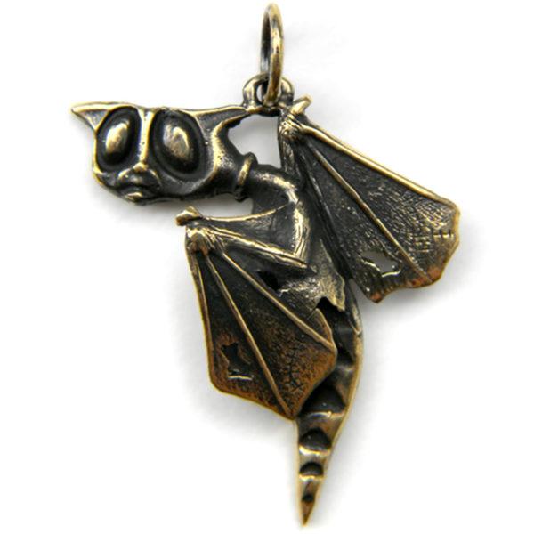 купить кулон в симферополе бронзовые украшения кот с крыльями