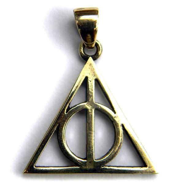 Купить кулон Дары Смерти из Гарри Поттера в интернет-магазине