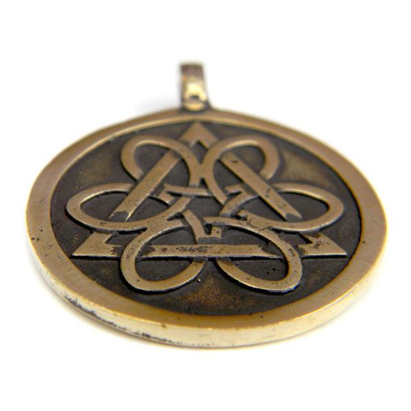 купить кельтский талисман из бронзы или латуни медальон колесо жизни симферополь
