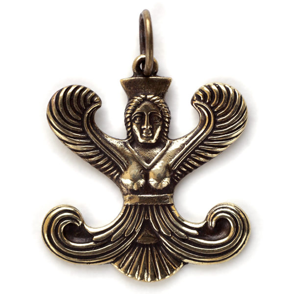 купить кулон скифская богиня апи из бронзы симферополь