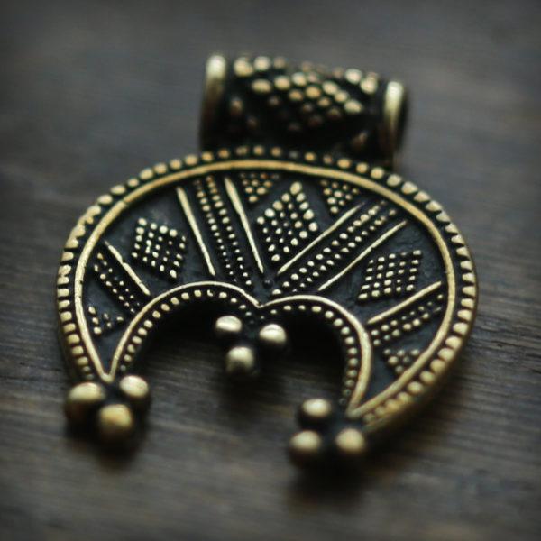 женское украшение лунница купить в интернет-магазине бронз лэнд
