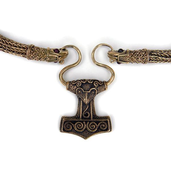 украшения бижутерия для мужчин в стиле викингов купить мьельнир оберег