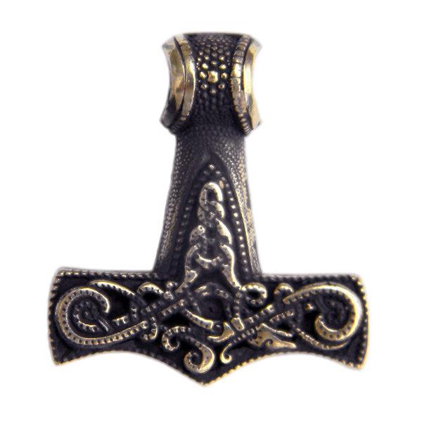 купить подвеску амулет мужское украшение мьельнир молот бога тора символ