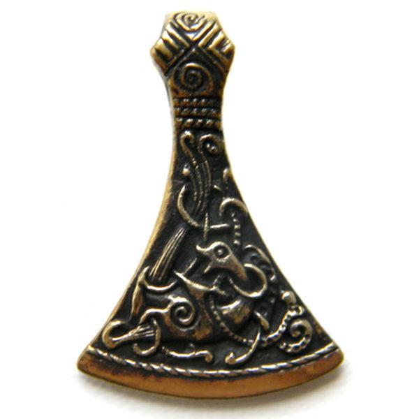 топор бронзовый кулон секира мужской оберег купить в симферополе