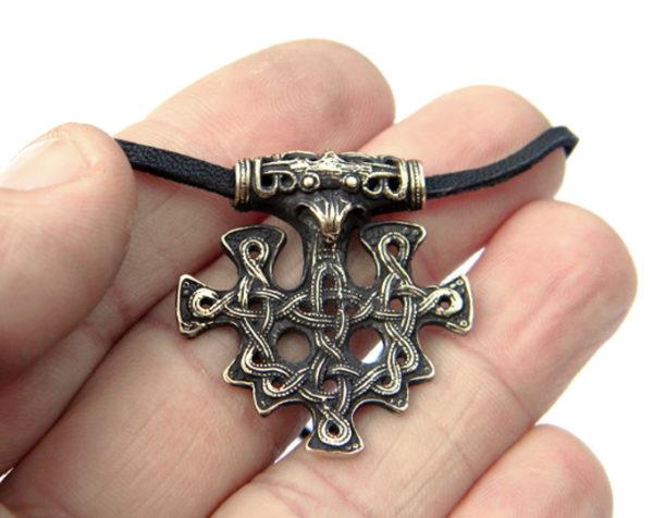 скандинавские знаки обереги купить недорого оптом кулон крест викингов из бронзы