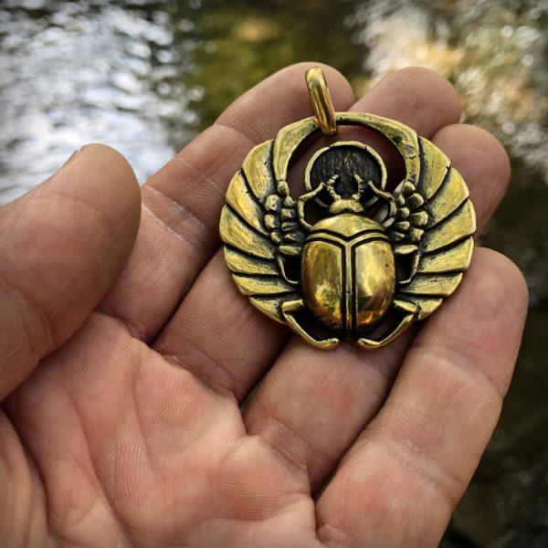 бронзовые украшения кулоны кольца купить в крыму в симферополе скарабей