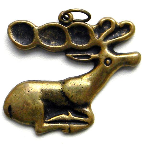 скифский олень бронзовый кулон в скифском стиле купить в симферополе подарок
