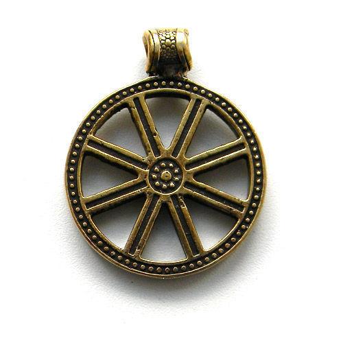 Купить славянский богатырский оберег колесо сварога в симферополе крым