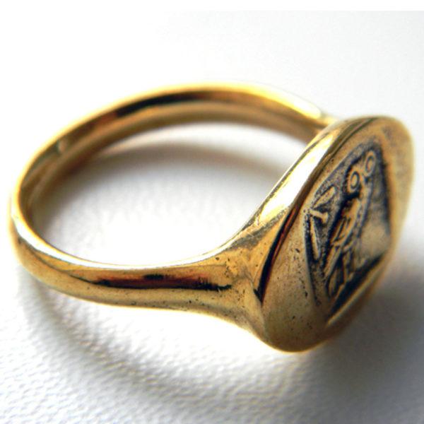 кольцо с монетой тетрадрахма купить в симферополе