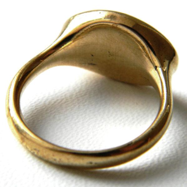 подарок студенту кольцо сова бронзовое