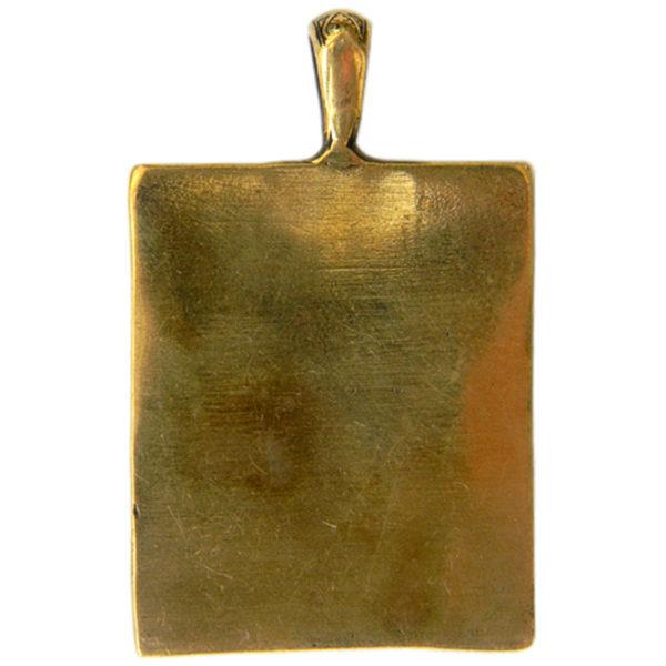 спас благое молчание кулон бронзовый икона купить в симферополе