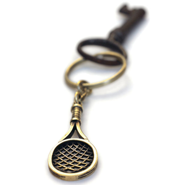 теннисная ракетка брелок бронзовый кулон подарок теннисисту купить в крыму