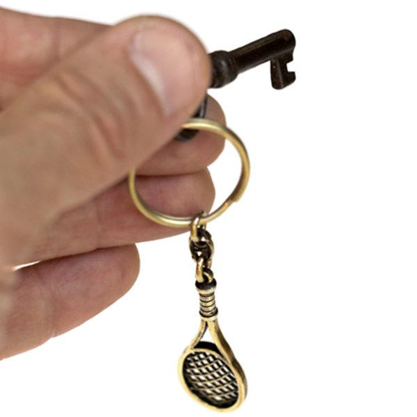 теннисная ракетка брелок бронзовый кулон подарок теннисисту купить в симферополе