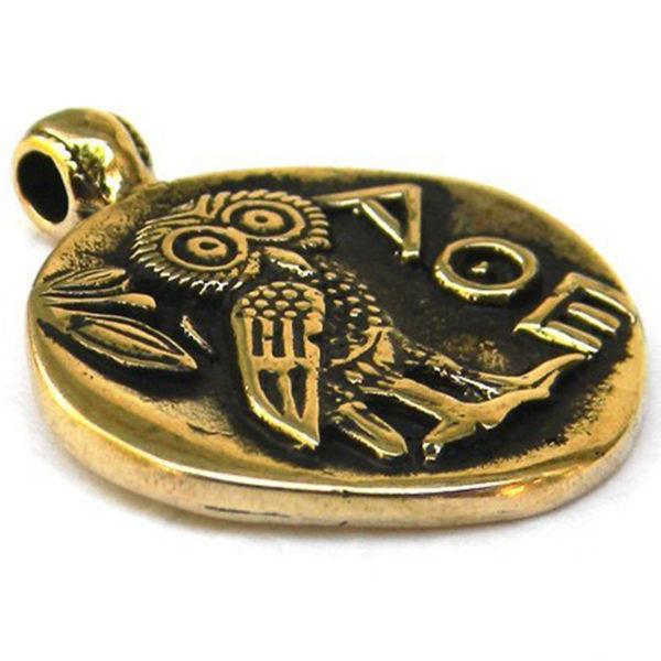 сова бронзовый кулон тетрадрахма купить в симферополе оптом в крыму