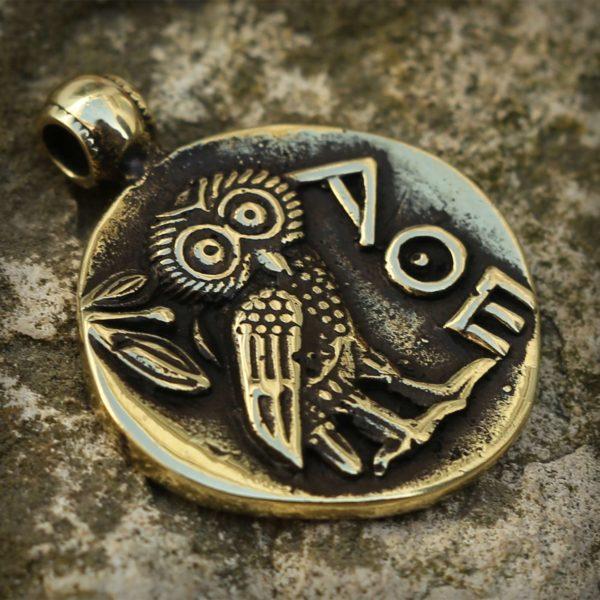 бронзовые украшения кулон сова купить оптом в симферополе в крыму