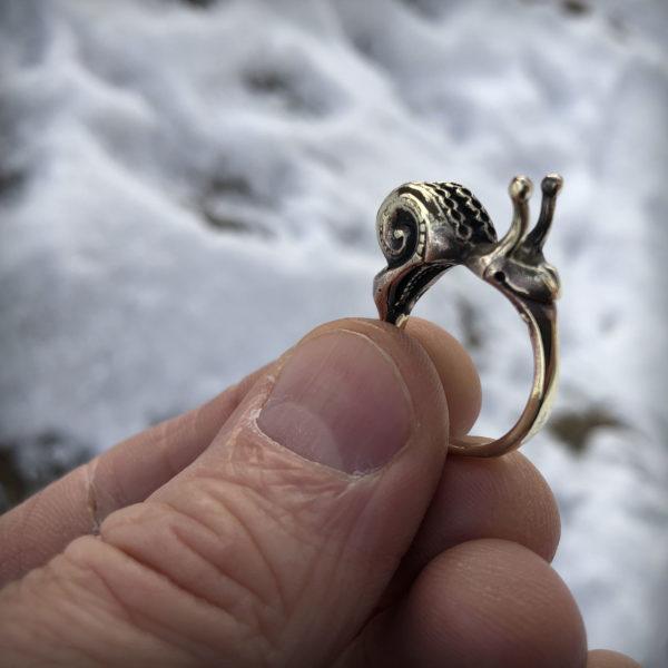 улитка бронзовое кольцо что привезти из крыма в подарок