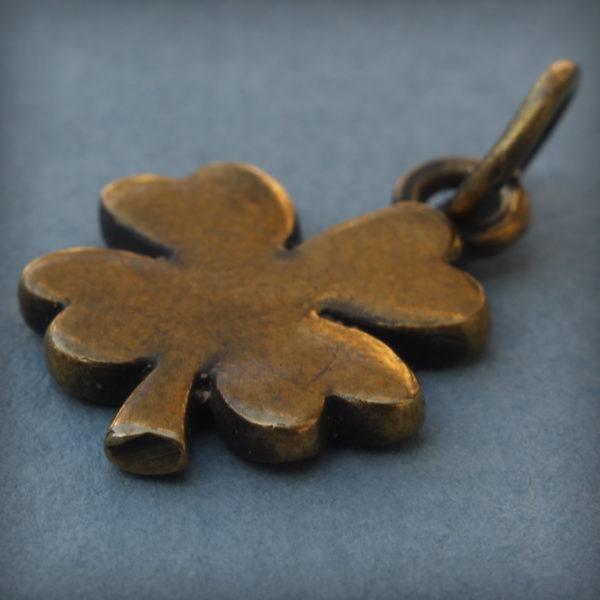 бронзовый кулон клевер купить в симферополе подарок привезти из крыма