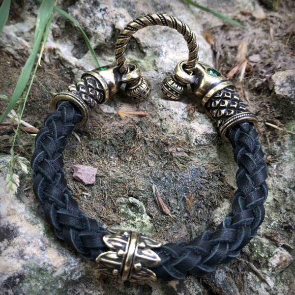 что привезти из крыма в подарок кожаный браслет с вороном бронзовые украшения бронзленд