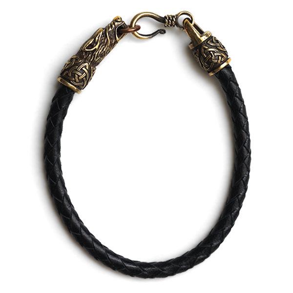Купить оригинальный подарок на 18 лет парню модный браслет с волками