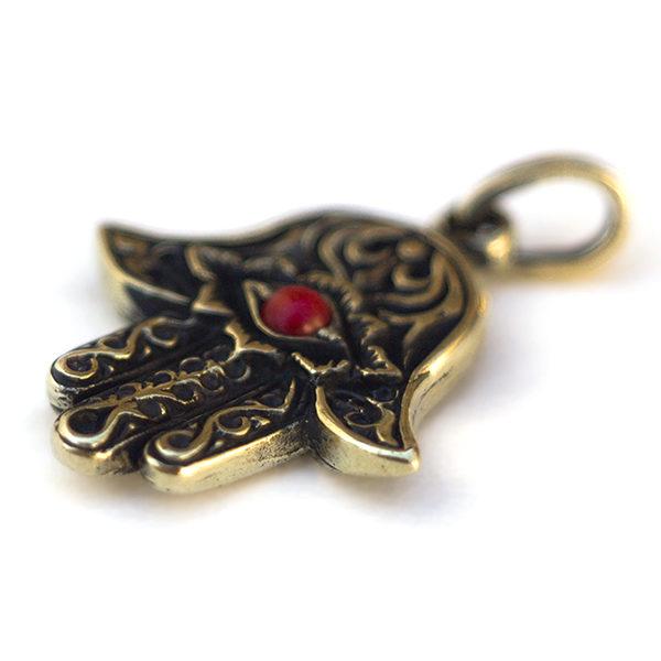 Купить украшение-амулет рука фатимы Амулет хамса для женщин из бронзы