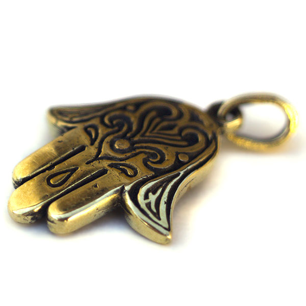 Купить подвеску рука фатимы бронзовый кулон хамса в симферополе
