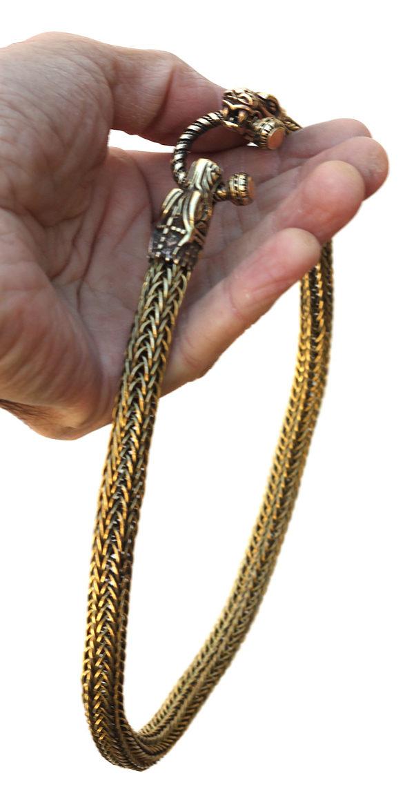 Купить массивные украшения на шею из проволоки этника кельты викинги