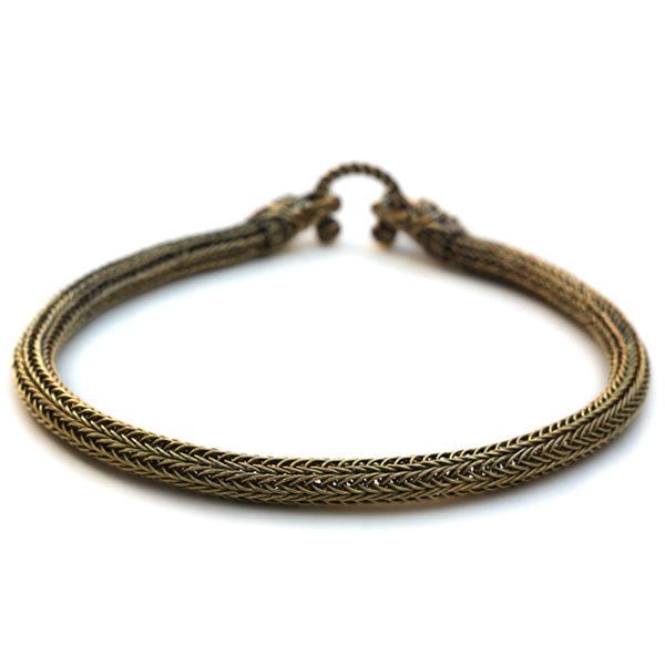 Купить авторские украшения вокруг шеи этническое ожерелье в стиле викингов с драконами