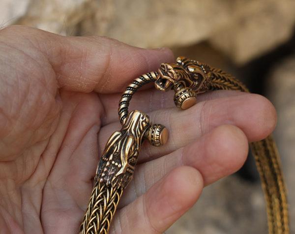 массивные ожерелья под горло золотистое колье симферополь бронзлэнд