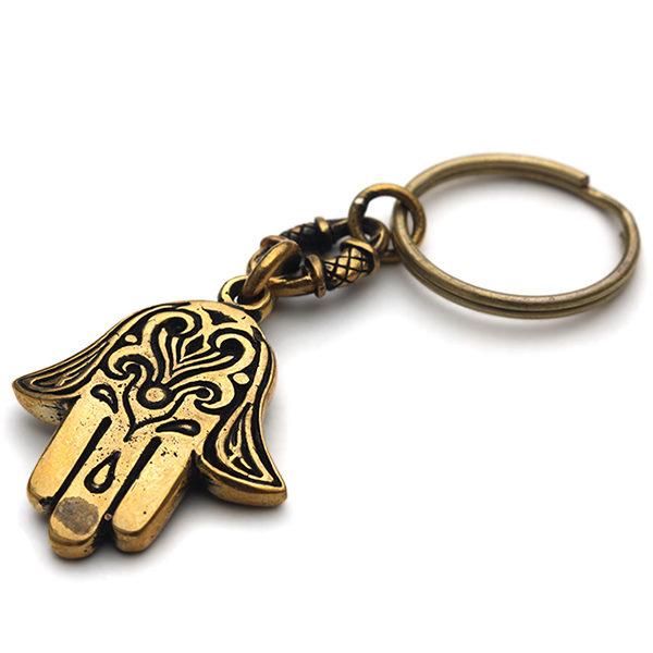 брелок хамса в машину купить рука святой фатимы ладонь бога амулет из металла