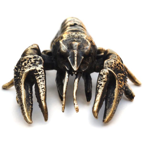 рак бронзовая статуэтка фигурка рак купить в симферополе в крыму подарок ракам