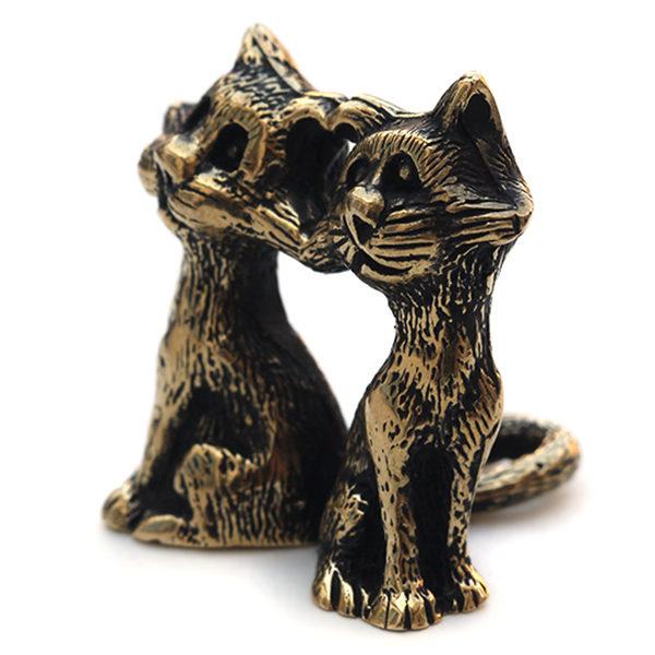 оригинальные подарки на день влюбленных купить статуэтку кошки в интернет магазине бронзэлэнд